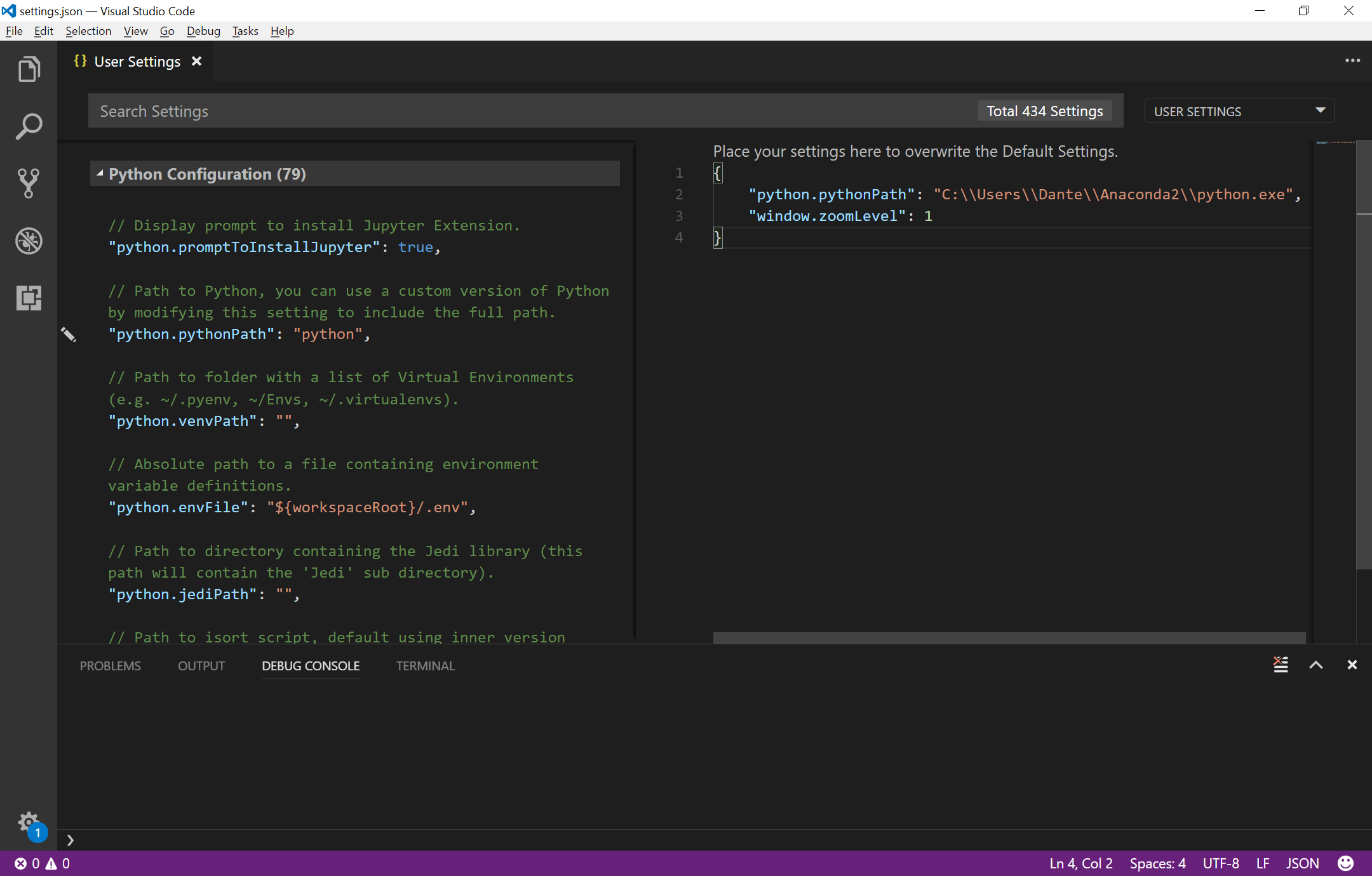 anaconda2 install opencv